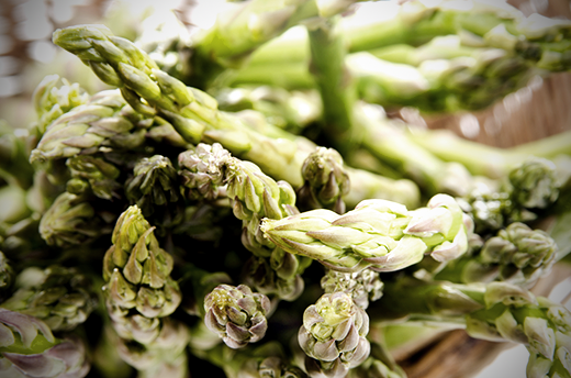 Asparagus with White Truffle Oil Recipe | The Olive Crush