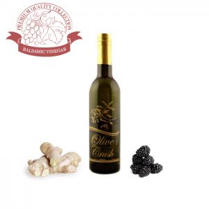 Blackberry Ginger Balsamic Vinegar | The Olive Crush