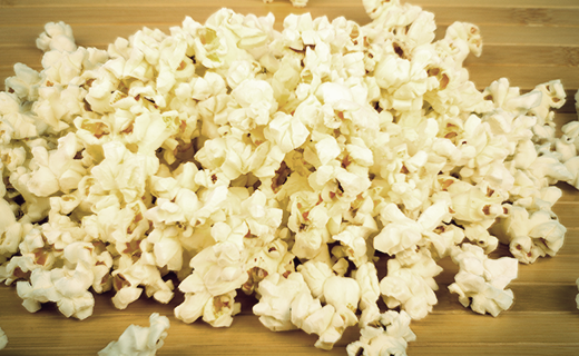 Lemon, Parmesan And Black Pepper Popcorn Recipe | The Olive Crush