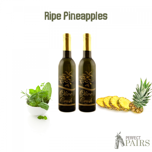 Olive Crush Ripe Pineapples Perfect Pair