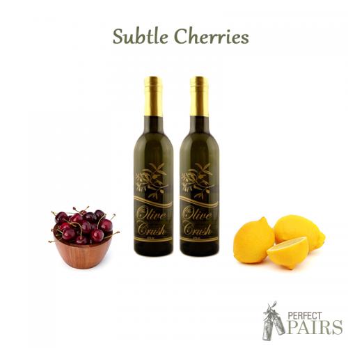 Olive Crush Subtle Cherries Perfect Pair
