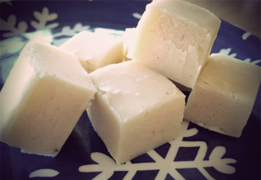 White Chocolate & Persian Lime Olive Oil Fudge Recipe | The Olive Crush