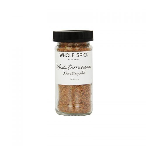 Whole Spice Mediterranean Roasting Rub Jar