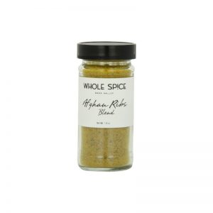 Whole Spice Afghan Ribs Blend Jar