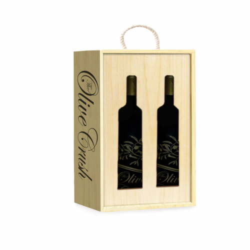Double Bottle Box | The Olive Crush
