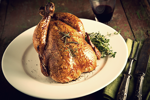 Brined Turkey with Greek Yogurt and Dill Recipe | The Olive Crush