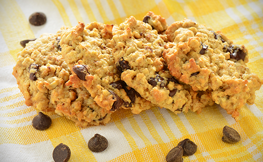 The Olive Crush Vegan Oatmeal Chocolate Chip Cookies Recipe