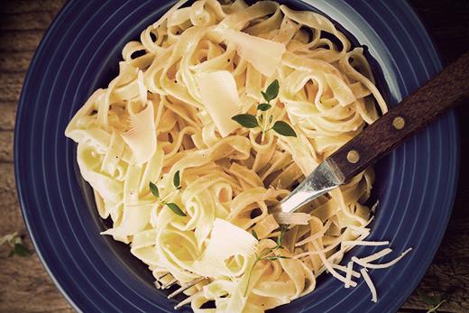 One Pot Parmesan Pasta Recipe   The Olive Crush