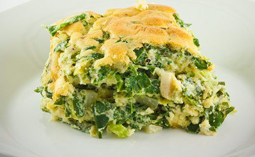 spinach souffle | the olive crush