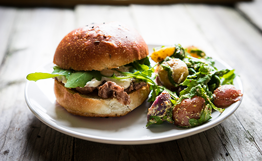 Balsamic Burger Recipe | The Olive Crush