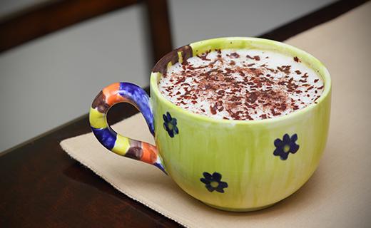 Chocolate Cinnamon Latte Recipe | The Olive Crush