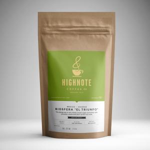 "High Note Coffee Mexico Biosfera ""El Triunfo"" Chiapas"