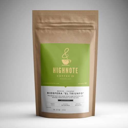 "High Note Coffee Mexico Biosfera ""El Triunfo"" Chiapas"