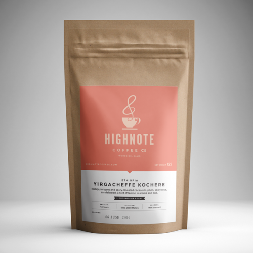 High Note Coffee Ethiopian Yirgacheffe Kochere