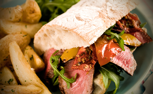 Tuscan Herb Italian Beef Sandwich Recipe | The Olive Crush
