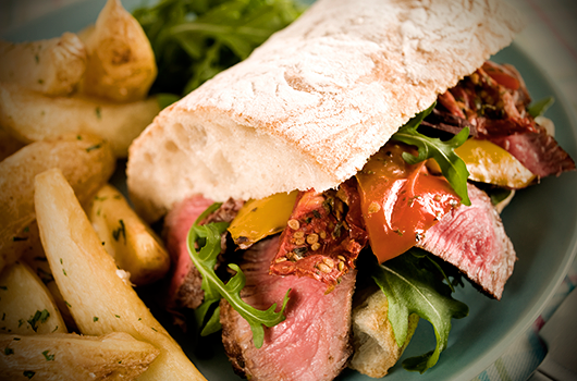 Tuscan Herb Italian Beef Sandwich Recipe | The Olive Crush