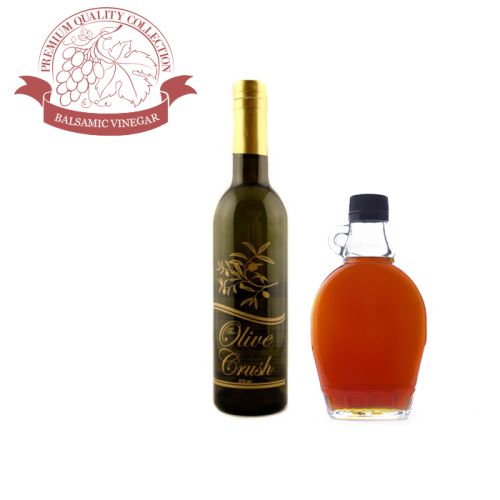 The Olive Crush Vermont Maple Balsamic Vinegar