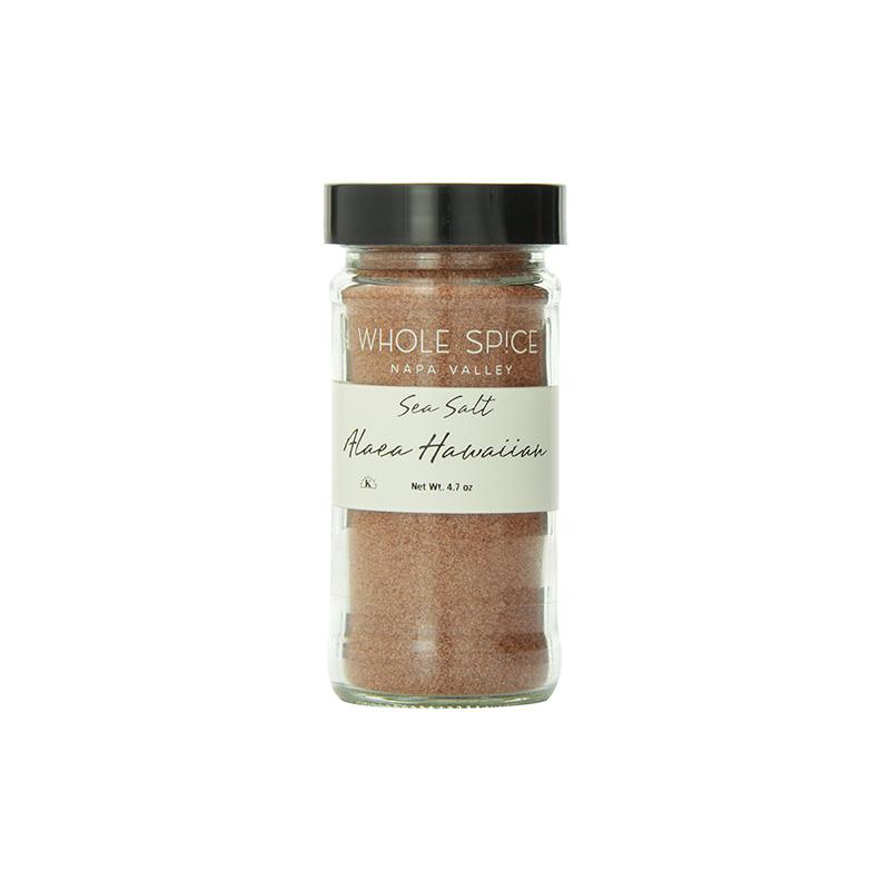 Whole Spice Alaea Hawaiian Sea Salt Jar