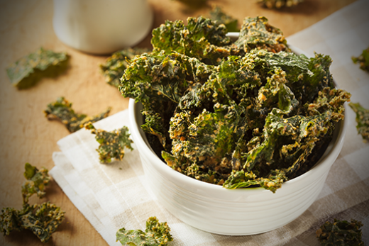 The Olive Crush Tuscan Herb Crispy Kale Chips Recipe