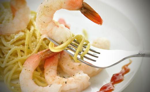The Olive Crush Lemon Basil Shrimp and Pasta Recipe