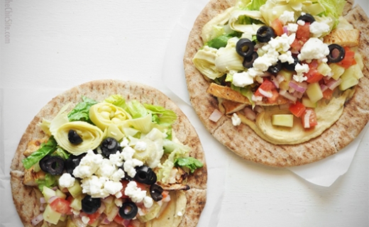 Mediterranean Taco Recipe | The Olive Crush
