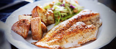 Baked Tilapia in Garlic and Olive Oil Recipe | The Olive Crush