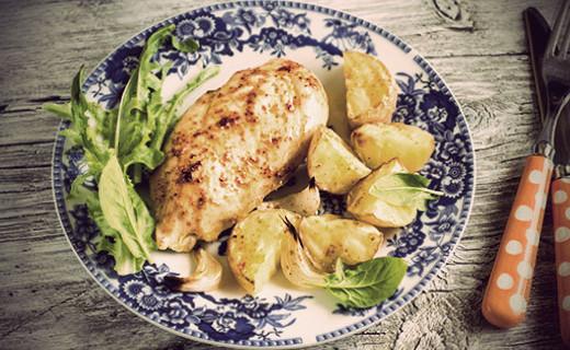 The Olive Crush Garlic Chicken Breast Recipe