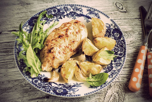 The Olive Crush Garlic Chicken Breast Recipe