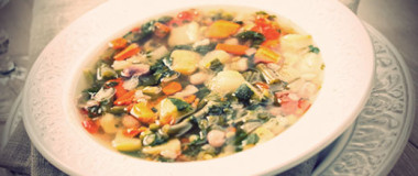 Hearty Vegetable Soup Recipe | The Olive Crush