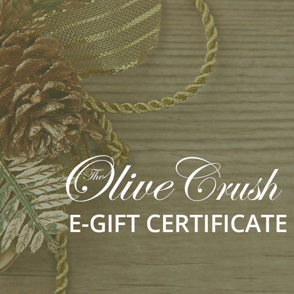 The Olive Crush Online Gift Certificate